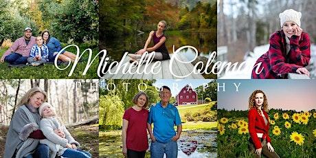 Michelle Coleman Photo Shoot tickets