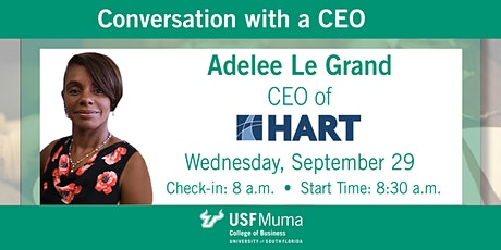 Conversation with a CEO Adelee Le Grand tickets