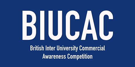 BCAS (British Commercial Awareness Scheme) 2021 tickets