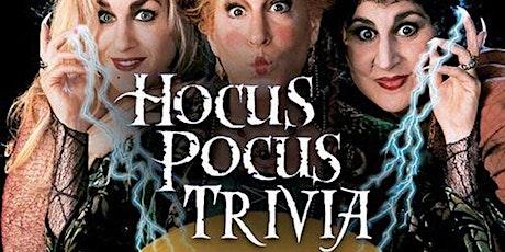'Hocus Pocus' Trivia at Railgarten tickets