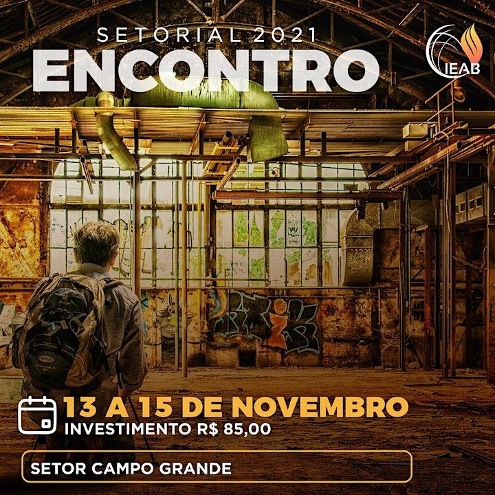 Imagem do evento SETORIAL 2021 - SETOR CAMPO GRANDE