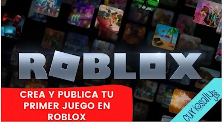 Imagen de ¡CREA TU PRIMER VIDEOJUEGO EN ROBLOX! - Reta a tus amigos