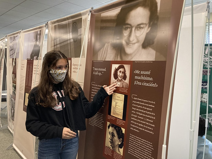 The Anne Frank - A History for Today Exhibit image