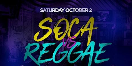 Reggae vs Soca Caribean city Saturdays tickets