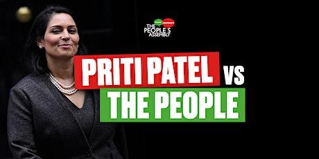 Priti Patel vs The People tickets