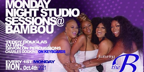 MONDAY NIGHT STUDIO SESSIONS feat. THE Bcrew tickets