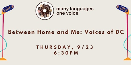Between Home and Me: Voices of DC tickets