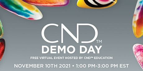 CND Demo Day with East Coast Salon Services tickets
