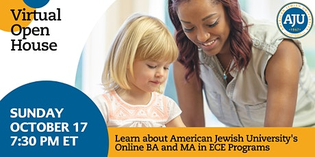 Virtual Information Session for BA or MAEd in Early Childhood Education tickets