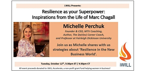 Resilience as your Superpower:  Inspirations from the Life of Marc Chagall tickets