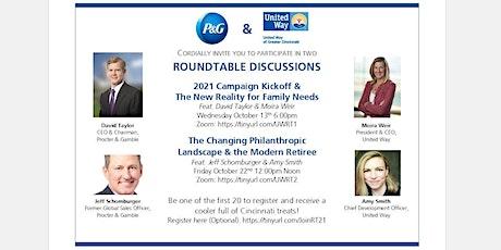 P&G + UWGC Roundtables 2021 tickets