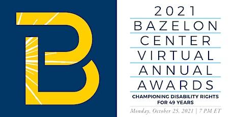 2021 Bazelon Center Virtual Annual Awards tickets
