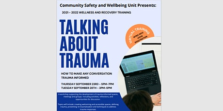 Talking About Trauma: How to make any conversation trauma informed tickets