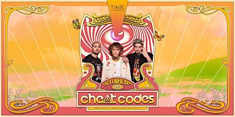 Cheat Codes tickets