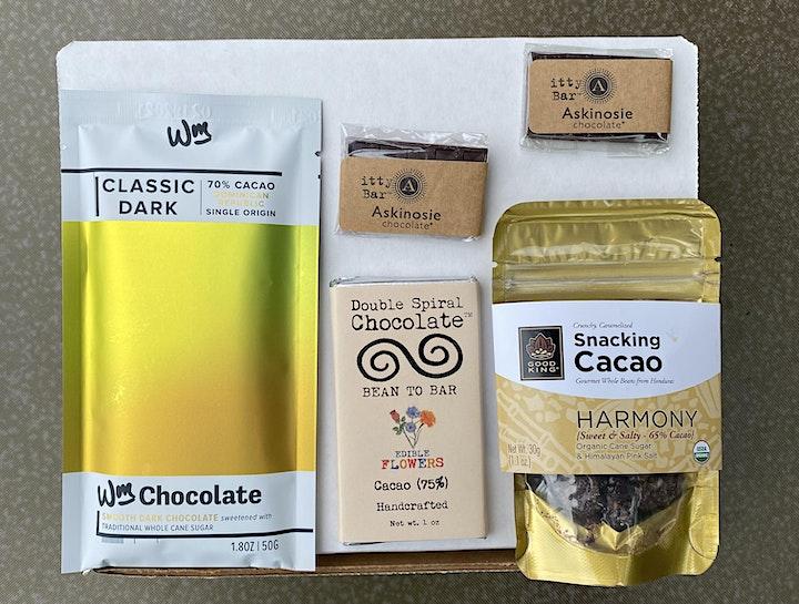 Online  Chocolate Tasting with 37 Chocolates image