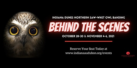 Indiana Dunes Owl Banding: Behind the Scenes tickets