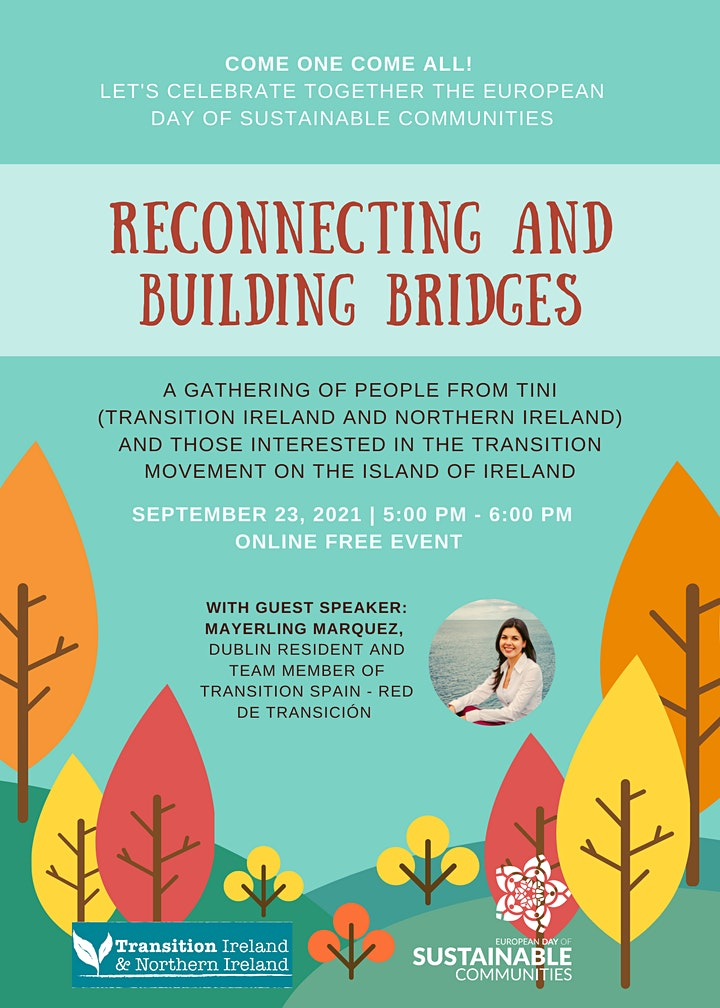 Reconnecting and Building Bridges. Transition Ireland and Northern Ireland. image