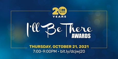 2021 I'll Be There Awards tickets
