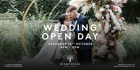 Oakfield Gardens Wedding Open Day tickets