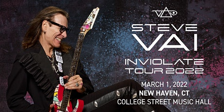 Steve Vai: Inviolate Tour tickets