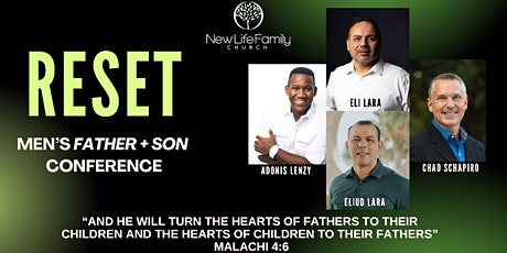 RESET   Father + Son Conference tickets