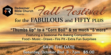 Fabulous and 50+ Fall Festival tickets