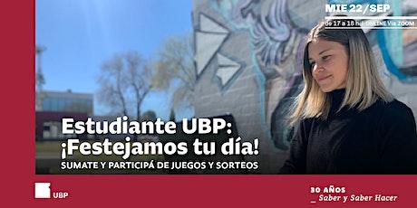 Estudiante UBP ¡Festejamos tu día! entradas
