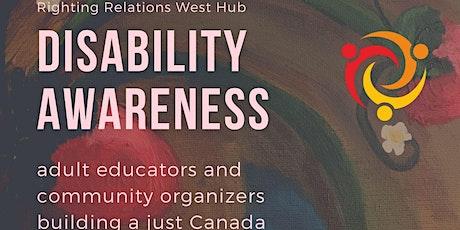 Disability Awareness tickets