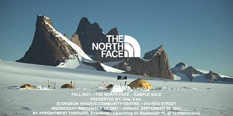 THE NORTH FACE - FALL 2021 SAMPLE SALE - Presented by: One. 5 Inc. tickets
