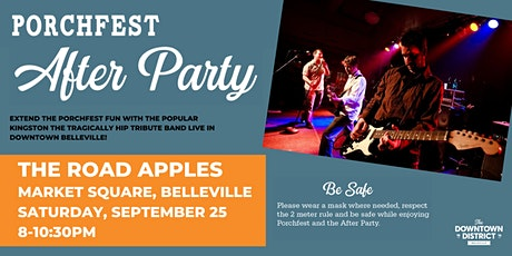 Porchfest After Party - The Road Apples Live tickets