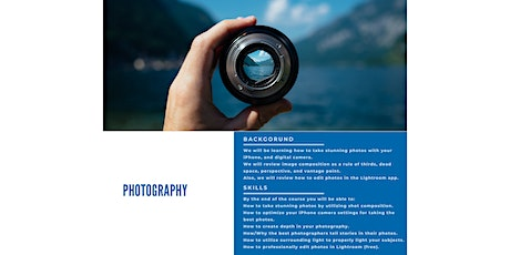 Photography tickets