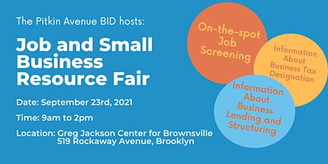 Job and Small Business Resource Fair tickets