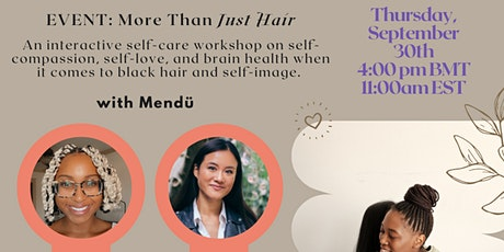 Project Embrace x Mendü: More Than Just Hair tickets