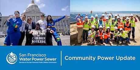 Community Power Update - September 2021 tickets