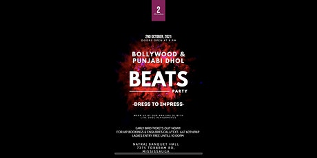 Bollywood and Punjabi Dhol Beats Party tickets