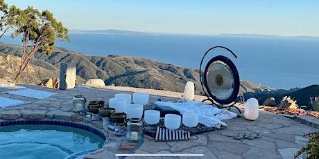 Malibu Ocean View Sound Bath Ceremony+guided meditation tickets