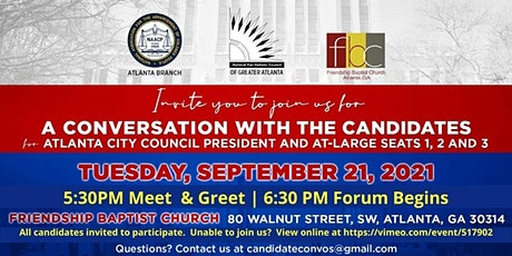 A Conversation with the Candidates --  Council President AND At-Large Seats tickets