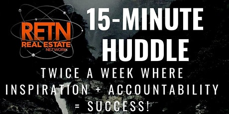 15-Minute Huddle! tickets