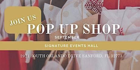 POP UP SHOP September tickets