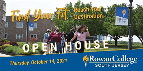 Rowan College South Jersey Fall 2021 Open House (Gloucester Campus) tickets