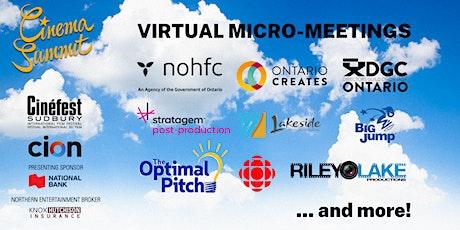 Virtual Micro-Meetings   Cinema Summit (Wednesday, September 22) tickets