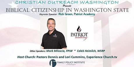 Biblical Citizenship in Washington State tickets