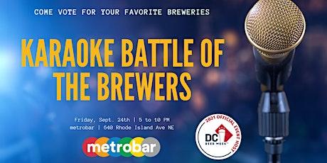 Karaoke Battle of the Brewers tickets