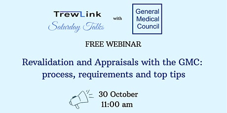 Revalidation and Appraisals with the GMC: process, requirements, top tips tickets