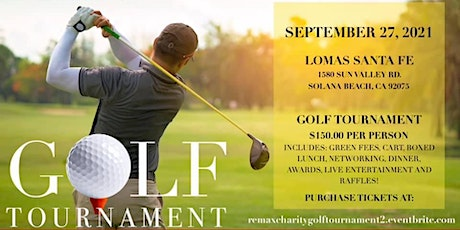 """RE/MAX Elite Properties RSF """"Annual""""  Charity Golf Tournament tickets"""