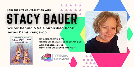 Join the Live conversation with Stacy Bauer tickets
