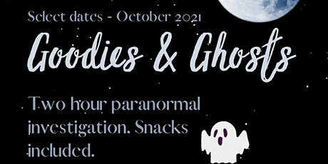 Goodies & Ghost tickets