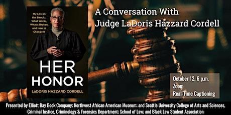 A Conversation with Judge LaDoris Hazzard Cordell tickets