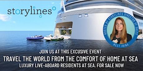 """""""Storylines Soiree: Luxury live-aboard Q&A"""" in West Palm Beach tickets"""