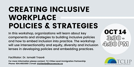 Creating Inclusive Workplace Policies & Strategies tickets